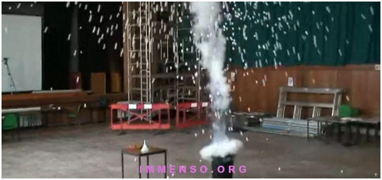 azoto liquido esplosione palline ping pong