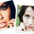 foto belle donne con occhi meravigliosi