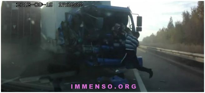incidente camion pazzesco