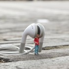 miniature strada - tiny street art 21