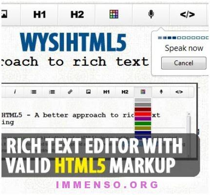 WysiHTML5