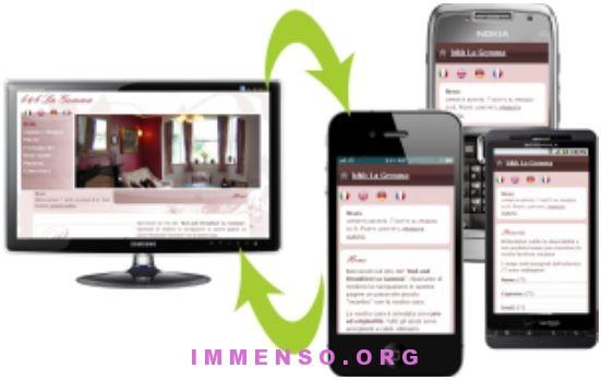 realizzazione siti web per cellulari regole