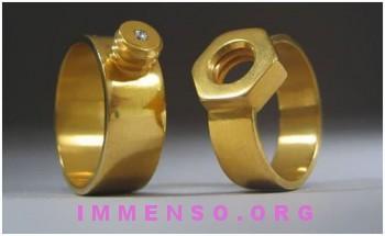 anello bullone e dado