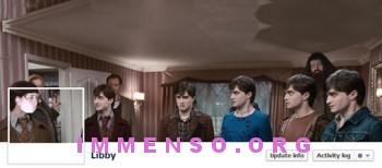 copertina facebook harry potter