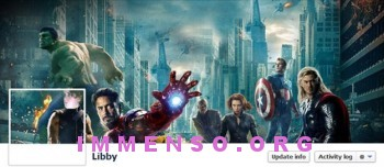 copertina facebook the avengers