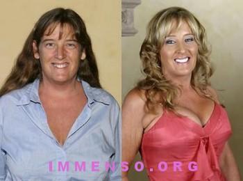 prima e dopo trucco extrememakehover 11