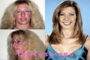prima e dopo trucco extrememakehover 12