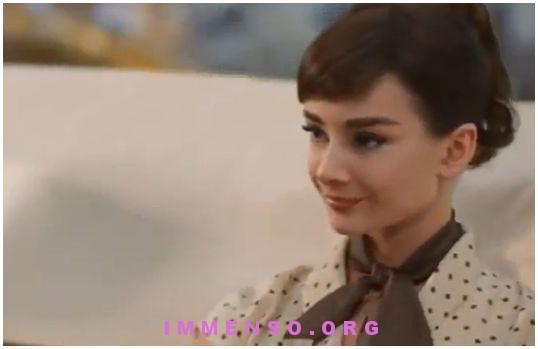 audrey Hepburn pubblicita