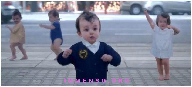 bambini evian pubblicita