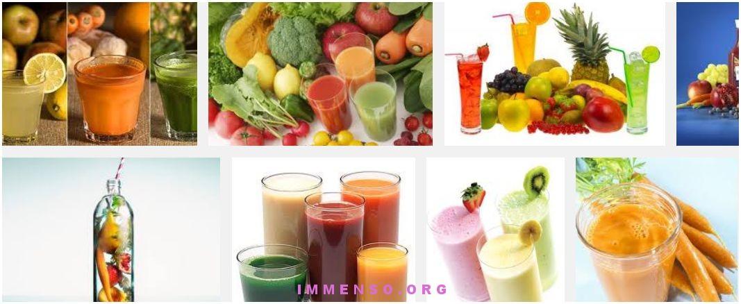 frutta verdura frullati
