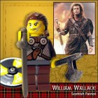 william wallace lego