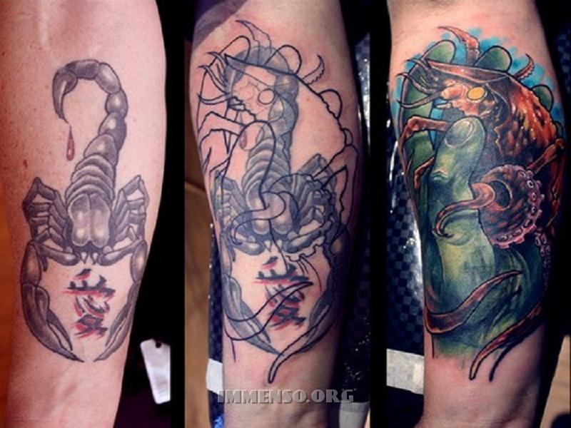 Popolare Foto: tatuaggio cancellato 02 >> Tatuaggi coperti: cambiare idea  CH67