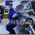 bottiglie supermercato crollo