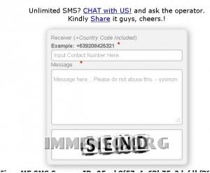 sms gratis fjeer.me