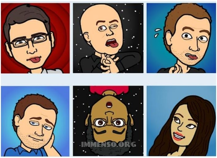 bitstrips app fumetti