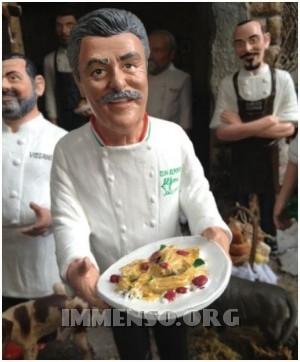 chef presepe napoletano