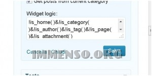 plugin widget wordpress