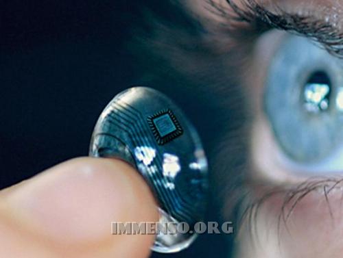 lenti contatto tecnologiche
