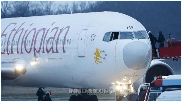 aereo dirottato svizzera