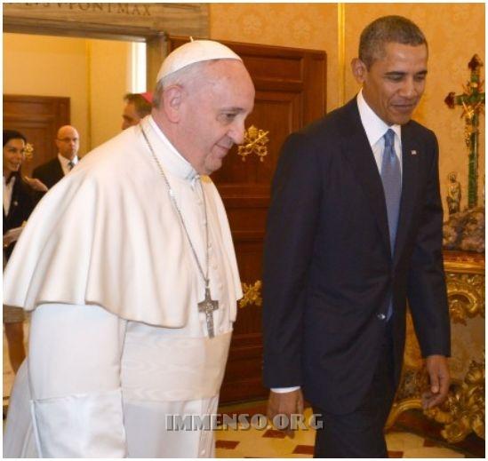 obama papa francesco