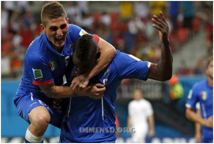balotelli immobile partita italia