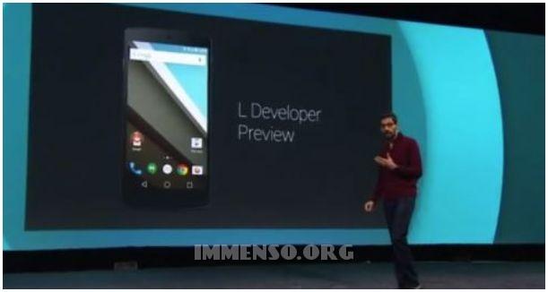 novita funzioni google Android L