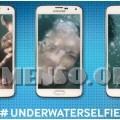 selfie sott'acqua galaxy s5