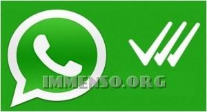 whatsapp terza spunta segno