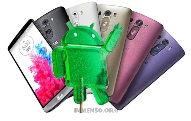 lg android aggiornamento