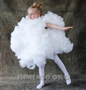 vestito halloween nuvola