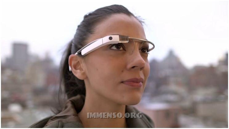 google glass donna