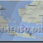 rotta aereo scomparso singapore