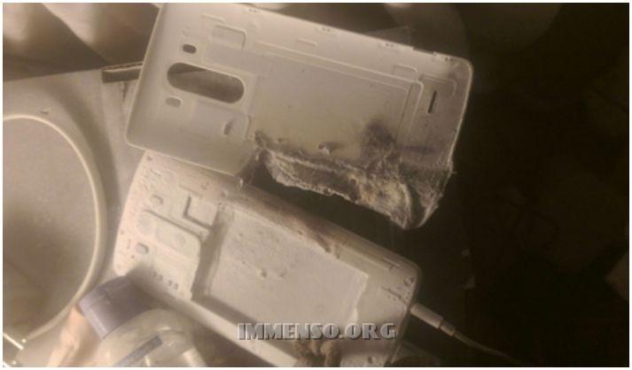 smartphone LG G3 esploso