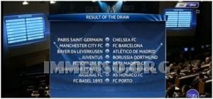 sorteggi champions league 2015