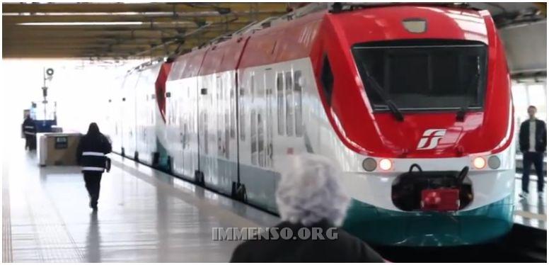 treno per roma fiumicino