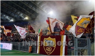 coppa italia roma tifosi stadio