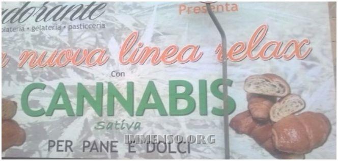 pane alla cannabis