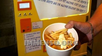 distributore patatine fritte