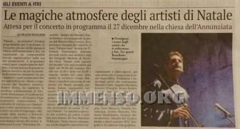 concerto natale itri
