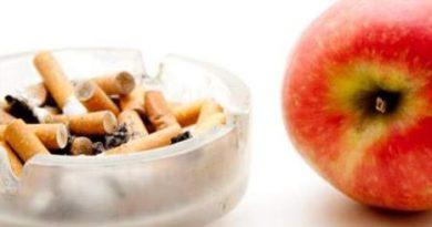 Come smettere di fumare facilmente usando frutta e verdura