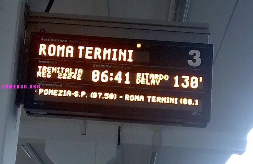 ritardo treno
