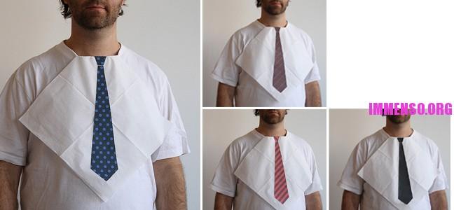 tovaglioli con la cravatta