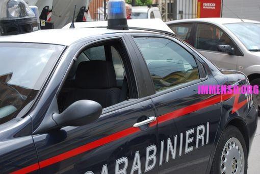 guida in stato d'ebbrezza incidente stradale: carabinieri