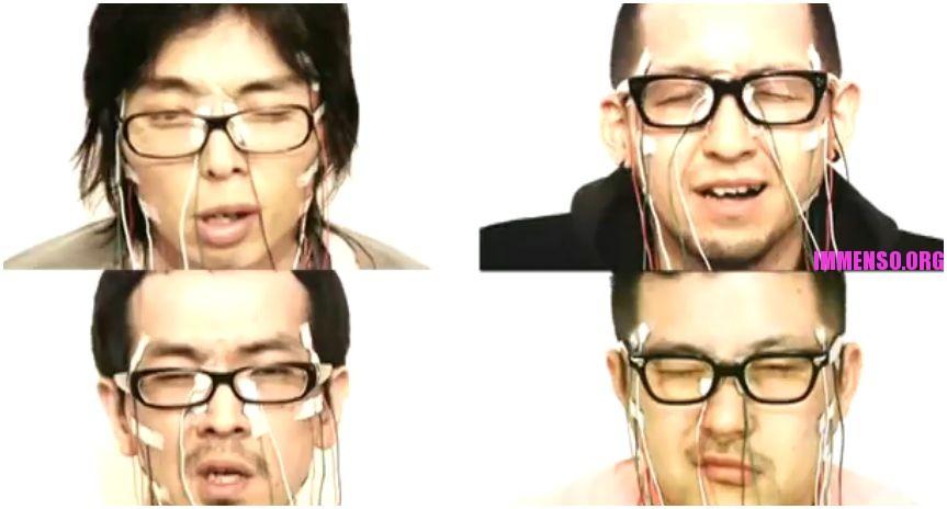 test giapponese: stimolazioni elettriche sul viso a suon di musica