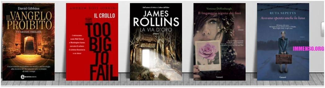 vendita libri online: ebook