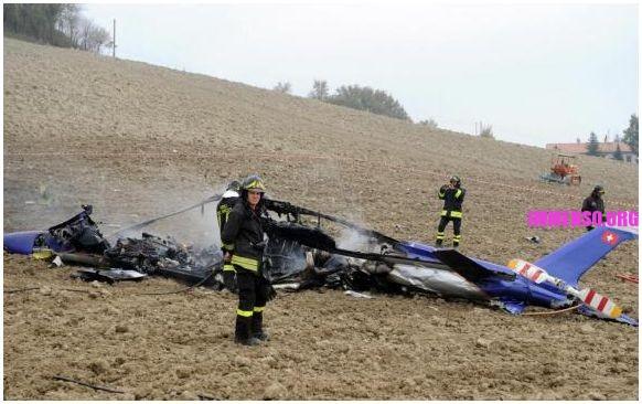 incidente elicottero marche