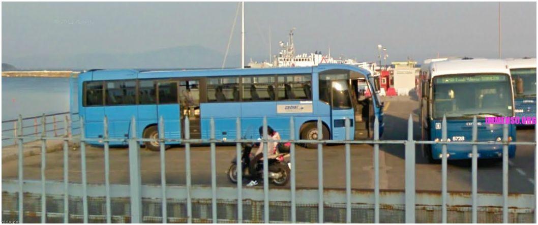 autobus da porto a stazione formia