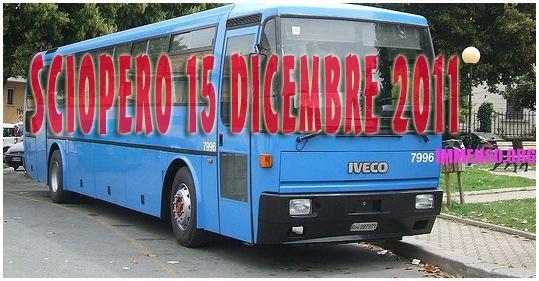 sciopero Cotral 15 dicembre 201