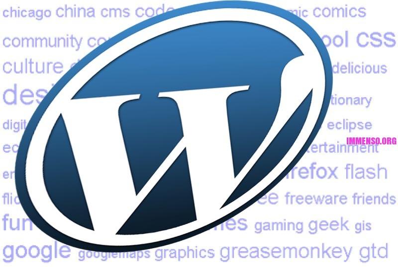 tag cloud wordpress