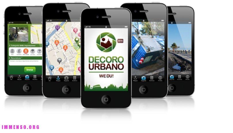 decoro urbano segnalazioni problemi tramite app android e iphone